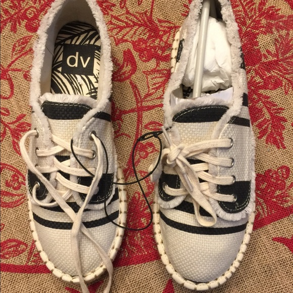 0d89885504b6 Dolce vita Black white espadrille platform shoes
